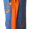 203 Cashmere Orange Blue Ginko